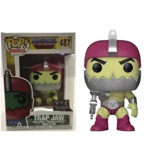 Trap Jaw Masters of the Universe funko  #487